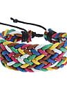 Z&X®  Candy Color Rope Knit Bracelet