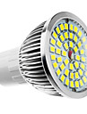 6W 500-550lm GU10 LED Spotlight MR16 48 LED Beads Warm White Cold White Natural White 100-240V 85-265V