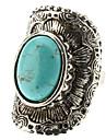 turquoise bague en argent arc géométrique des femmes