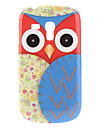 Blue Owl Pattern Hard Case for Samsung Galaxy S3 Mini I8190 Galaxy S Series Cases / Covers