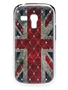 Reino Unido Bandeira Padrão Hard Case com strass para Samsung Galaxy S3 mini-I8190