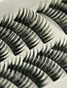 Cil 10 Etendu Dense Naturel Boucle Epais Maquillage OEil de Chat Maquillage de Fete Epais Longs Naturels Allonge l\'Extremite de l\'Oeil