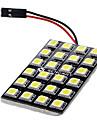 T10 / Festoon / BA9S سيارة لمبات الضوء 3 W SMD LED 600 lm LED أضواء الداخلية