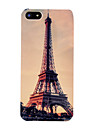 Vintage Eiffel Tower Pattern Hard Case for iPhone 5/5S