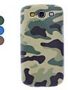 Camuflagem Projeto Hard Case para Samsung Galaxy S3 I9300 (cores sortidas)
