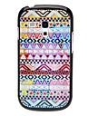 Triangulo tecido projeto Hard Case Padrao para Samsung Galaxy I8190