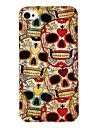 Cull Skull Pattern IMD Technology Hard Case for iPhone 4/4S