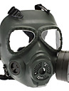 Skull Style Gas Mask for Outdoor War Games - Army Grøn