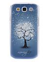 cas dur de modèle d'arbre de neige pour Samsung Galaxy S3 I9300