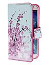 элегантный цветок чехол с подставкой и слотом для карт Samsung Galaxy s4 i9500
