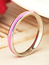 Eruner®Candy Color Titanium Steel Ring(Assorted Color&Sizes)