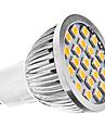 E14 GU10 E26/E27 Точечное LED освещение MR16 21 SMD 5050 240 lm Тёплый белый Холодный белый AC 220-240 AC 110-130 V