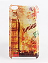 Protective Big Ben Pattern Case for iPod Touch 4