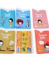 περίπτωση μπισκότα πρότυπο κορίτσι με πιστωτική κάρτα ολόκληρο το σώμα (τυχαία χρώμα)