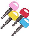 Мини многоцветный Ключевые Shaped Синие чернила Ballpiont Pen (случайный цвет)