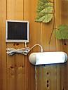 5-LED Indoor Outdoor luz branca LED Lampada Painel Mudar Jardim Energia Solar abrigo de jardim luz