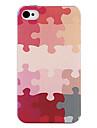 Puzzle Назад Чехол для iPhone 4/4S