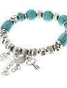 Vintage Style Bohême clé Palm Turquoise Bracelet