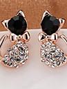 Cat-shaped earrings