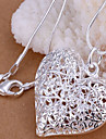 Silver Pendant Necklaces Copper / Silver Plated Daily Jewelry
