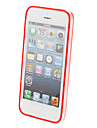 Special Design Extra-thin Transparent Bumper Frame for iPhone 5/5S (Assorted Colors)