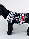 Cachorro Súeters Roupas para Cães Natal Ocasiões Especiais Para animais de estimação