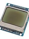 """(Для Arduino) совместим 1.6 """"LCD Nokia 5110 модуль с синей подсветкой"""