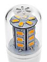 2W E14 G9 GU10 E26/E27 LED 콘 조명 T 24 LED가 SMD 5730 따뜻한 화이트 차가운 화이트 200-250lm 3000K AC 220-240V