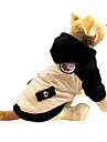 Dog Coat / Hoodie Beige Dog Clothes Winter Classic
