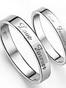 Couple's Alloy Couple Rings - Ring For Wedding / Engagement / Daily