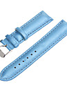 20mm Women's Bright PU Watch Band (Assorted Colors)