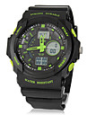 SKMEI® Men's Analog-Digital Multi-Function Rubber Band Sport Wrist Watch (Assorted Colors) Cool Watch Unique Watch