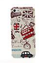 Boîtier en plastique dur de modèle de Londres Bus Rouge pour iPhone 5/5S