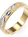 Miss ROSE®Men's Golden Band Ring(Size 8.5)