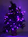 4M 3W 40-LED 210LM Purple/Yellow/Red/Blue/White/Warm White Light LED Strip Light for Holiday Decorations