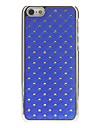Delicate Padrão Rhombus com Diamante Hard Case para iPhone 5C (cores sortidas)