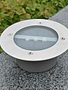 흰색 빛 주도 태양 빛 라운드 움푹 들어간 된 갑판 도크 통로 정원 빛