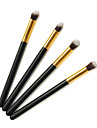 4pcs Makeup Brushes Professional Eyeshadow Brush Synthetic Hair Small Brush