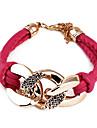 Fashion Lock Wrap Bracelet(Random Color)