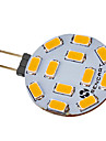 1pc 5 W 550-600 lm G4 Faretti LED 12 Perline LED SMD 5730 Bianco caldo 220-240 V