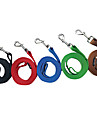 Cat Dog Leash Running Solid Nylon Rose Red Green Blue Pink