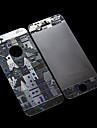 Decotative Film Pattern 3D Design Château Shinning pour iPhone 5/5S