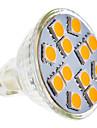 SENCART 210-250 lm GU5.3(MR16) Точечное LED освещение MR11 12 светодиоды SMD 5050 Тёплый белый AC 12V