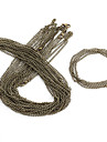 Vintage Chains Bronze Alloy 10 Pcs / Bolsa