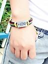 Кожаные браслеты Уникальный дизайн бижутерия Мода Кожа Бижутерия Бижутерия Назначение Для вечеринок Повседневные Спорт Новогодние подарки