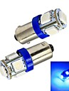 BA9S Automatique Bleu 1W SMD 5050 5000-5500Feux clignotants Feux stop Feu de marche arrière Lumières pour tableau de bord Lampe de