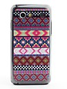 Aztec Tribal Pattern Protective PVC Back Case for Samsung Galaxy S Advance i9070