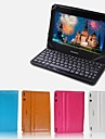 """Neppt Pu Leather Case Stand Protective Cover Skin for 10.1"""" Lenovo Ideatab S6000(Assorted Colors)"""
