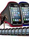 Bracelet poche de couverture de brassard de sport pour iPhone 4/4S/5/5C/5S (couleurs assorties)