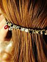 Authentiques quatre rangées coréens de cristal d'épingle à cheveux